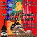 Activités de noël le samedi 12 décembre