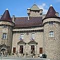 Chateau d'aubenas - ardeche - france