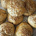 A essayer les petits pains au sésame