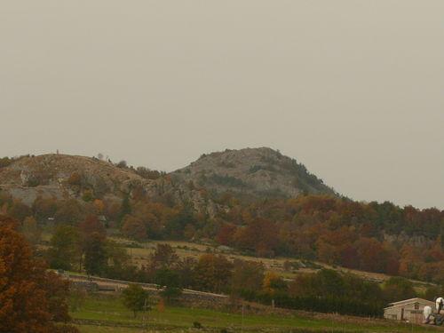 2008 10 12 Le Lizieux vu au dessus de La Chèze