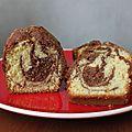 Cake marbré, l'indémodable