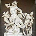 Mon top 10 sculptures antiques dans les musées: N°3: Le <b>Laocoon</b> (Musées du Vatican, Rome)
