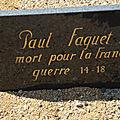 FAGUET Paul (Saint Christophe en Bazelle) + 20/09/1916 Bouchavesnes (<b>80</b>)