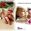 Bracelet baptême Nina 2