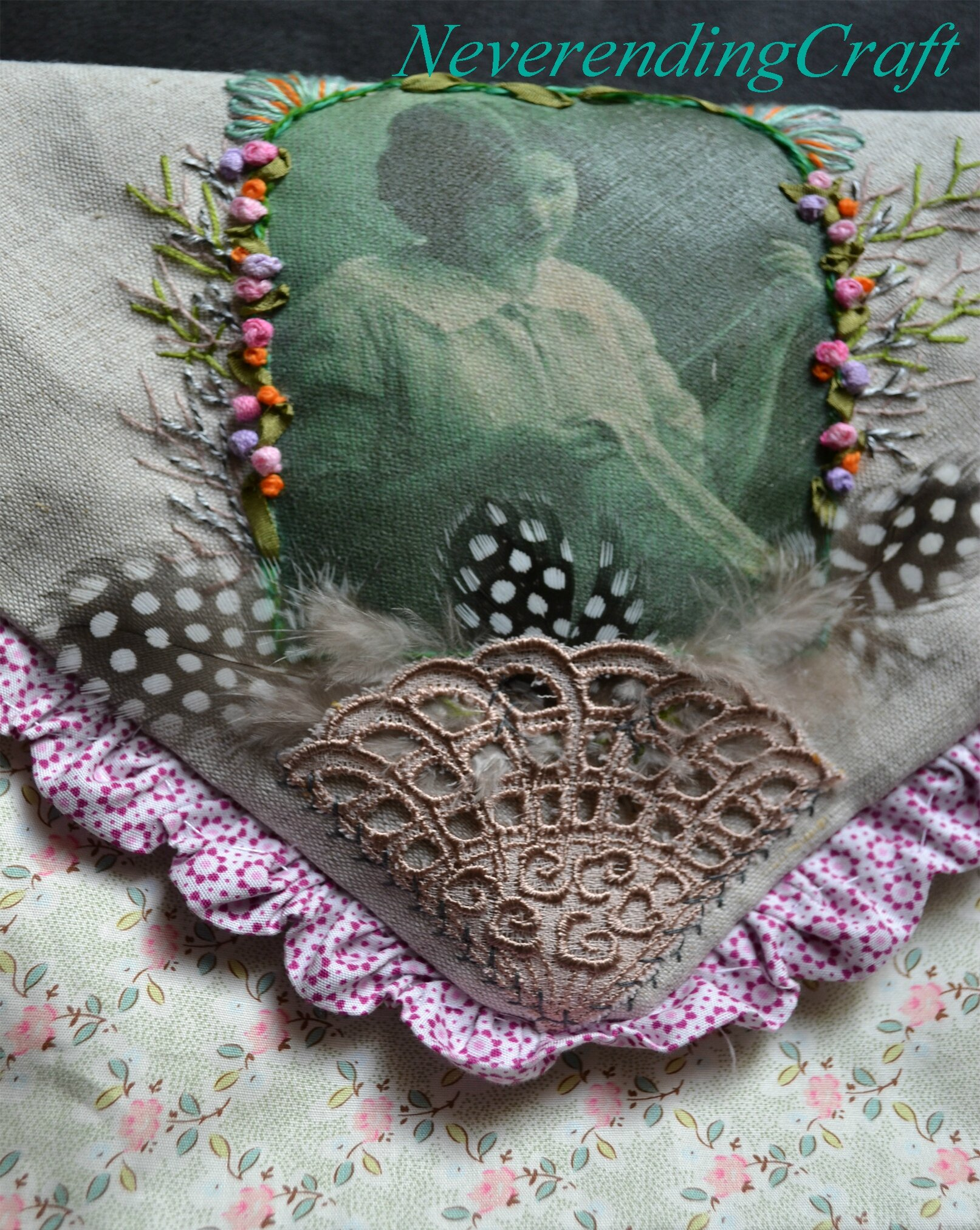 Broderie couturière