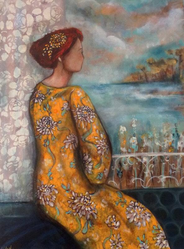 le kimono jaune