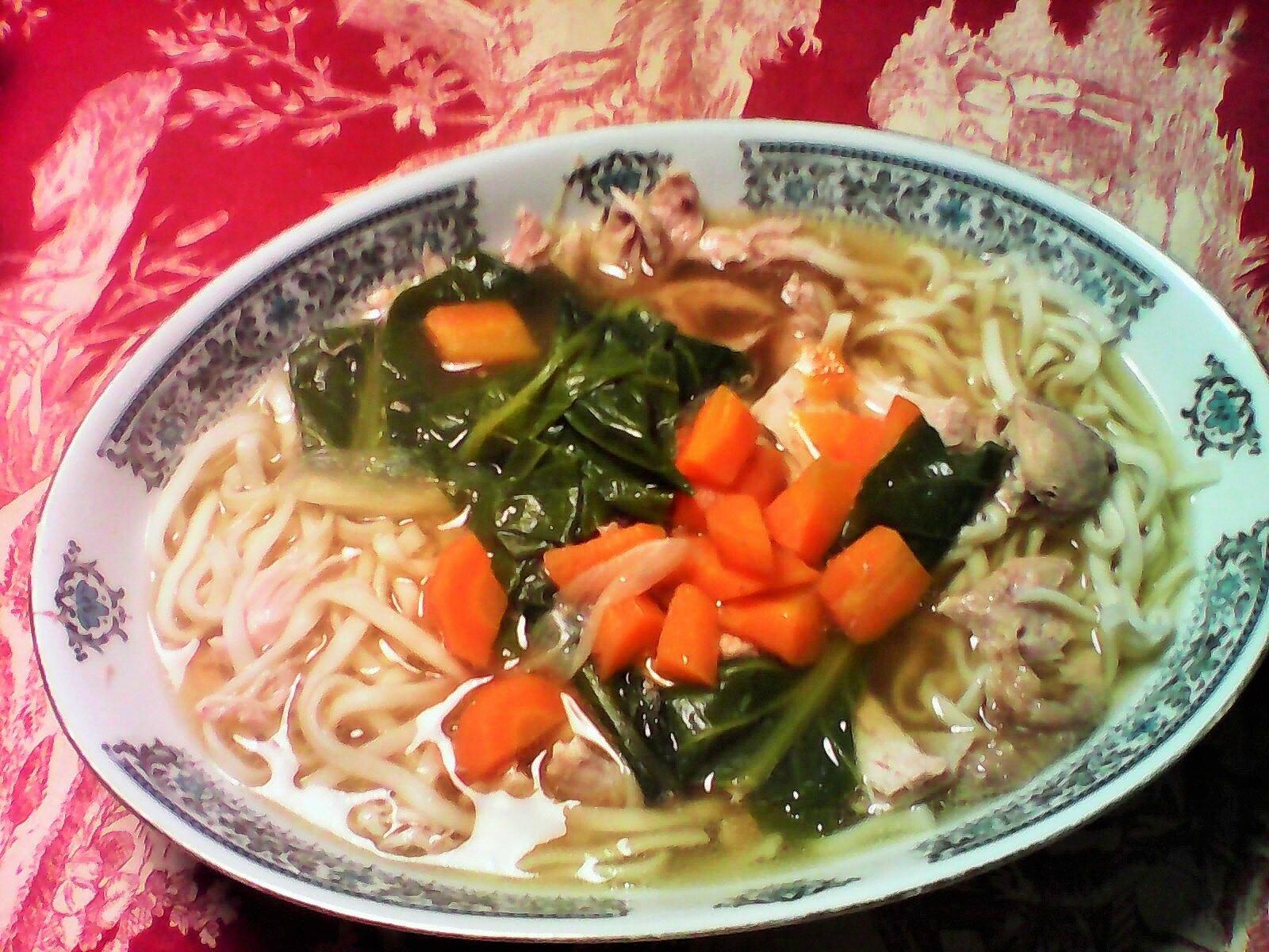 La cantine de Tokyo : soupe de poulet