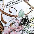 Un <b>mini</b> <b>album</b> avec la collection La Maison de Jeanne par Mackenzie