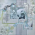 Adorable - miss en scrap - collection prendre l'air - lorelai design & christelle herinckx