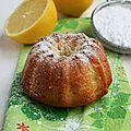 Mini cake au citron et huile d'olive