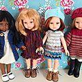 Du tricot pour mes poupées