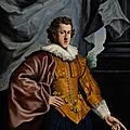 <b>Jean</b>-<b>Étienne</b> <b>Liotard</b>, Portrait of Francis Owen, three-quarter-length, in seventeenth-century Van Dyck costume