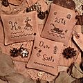 3 Patterns- Ho-Sleigh Flake 25th- Dear Santa US$ 11.00