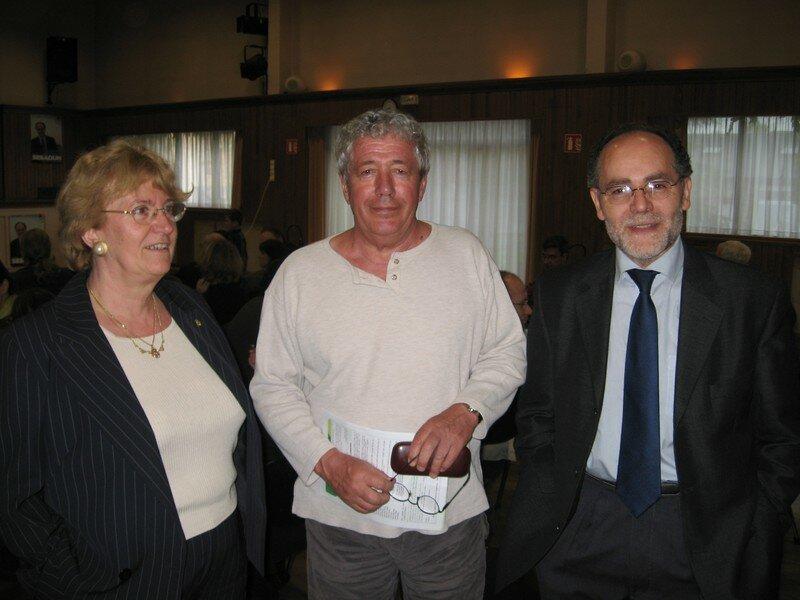 Avec Colette responsable Organisation et Jean Paul