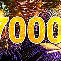 <b>7000</b> visiteurs...