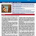Bulletin de veille sanitaire <b>Antilles</b>-Guyane. n°5 - mai 2011