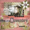 Petite fille de Novembre