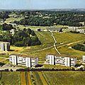Besançon, la cité universitaire de la Bouloi