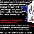 Campagne des municipales à <b>Agde</b> j-77 (humour) ...