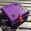 Boîte à bijoux qui brille pour petite fille qui grandit...