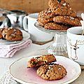 Cookies au beurre de cacahuète sans lait et sans gluten mais pas sans saveur !