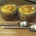 Crumble pomme cannelle