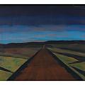 Léon spilliaert, chemin au crépuscule (1928