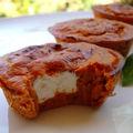 Extra-moelleux de tomates & basilic, coeur de ricotta