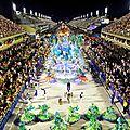 Une école de samba championne et une au rabais