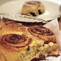 Cinnamon rolls ou petits roulés à la cannelle (usa)