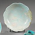 Rare coupe au marli <b>chantourné</b>. Iran, Seconde moitié du XIIe siècle