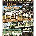 Concours élevage local - thérouanne 2014