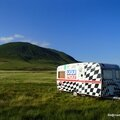 Caravane abandonnée (Col de la Croix St Robert, août 2013)