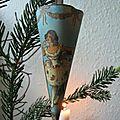 Ancien cornet Noël danois