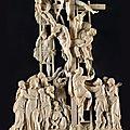 La Descente de Croix par Nicolas Mostaert, dit Nicolo Pippi (Actif de 1578 à 1604), Flandres, exécuté à Rome, vers <b>1579</b>