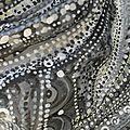 Hervé THAREL - SCHMIMBLOCK'S schatz 2014 - acrylique sur argile 24x19cm détail17b
