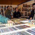 Audincourt (Montbéliard) 2009 Des caisses de BDs, du choix !