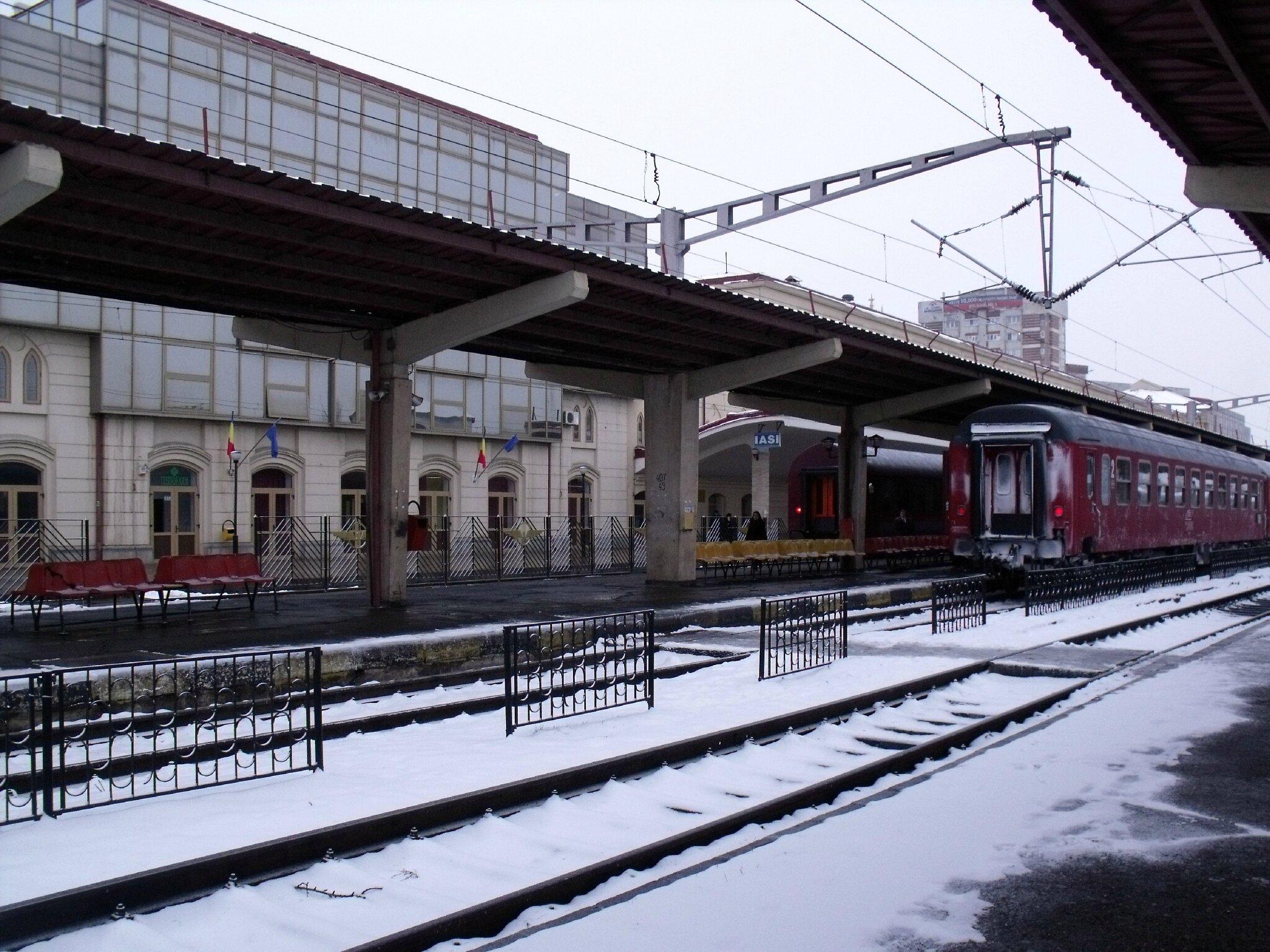 Iasi (Roumanie) Quais