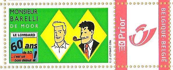 Détail : le timbre en hommage à Bob (2006)