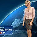 Evelyne Dhéliat jupe grise haut rose 3150 04 10 10