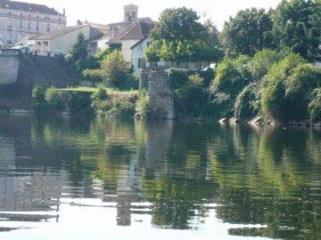 La culée du Vieux Pont ( avant 1500)