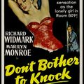 Fiche du film don't bother to knock