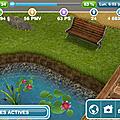 Les Sims freeplay - <b>LOISIR</b> - Nourrissage d'oiseaux -