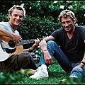 Johnny hallyday et david hallyday - sang pour sang - video