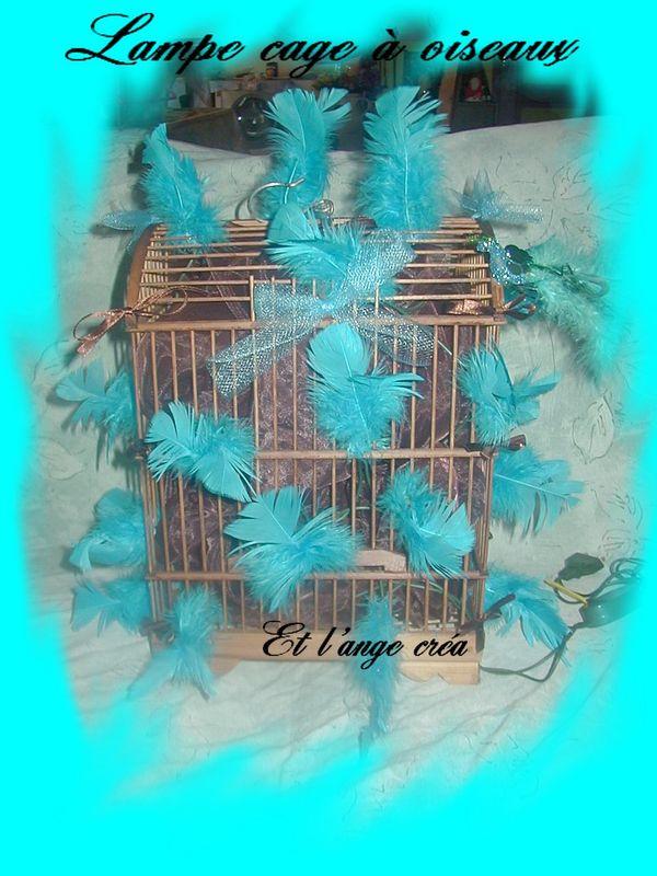 lampe cage oiseaux