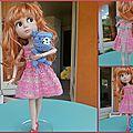Lili et sa première robe