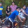 Los Jóvenes en Bicicleta a la Compañía, con Hno Osvaldo, tío Patricio y tío Hernán