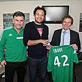 Le parisien <b>Fabrice</b> <b>Eboué</b> signe à l'ASSE!!