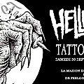 Premier '<b>HELLFEST</b>/ Tattoo Day' le 30 Septembre Prochain @ Paris (Entrée Gratuite)