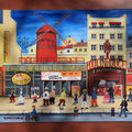 Le Moulin Rouge 33x41 cm